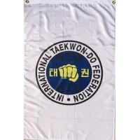 ITF flagg trad. logo