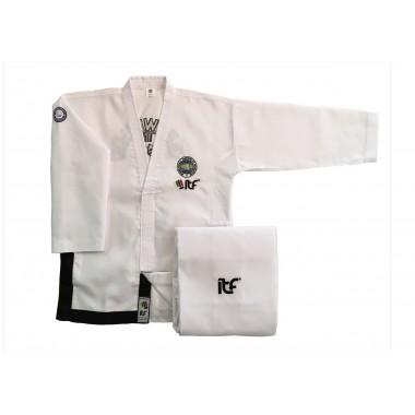 MF Onyx uniform sortbelter 1-3  Dan