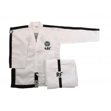 MF Onyx uniform sortbelter 4-6  Dan