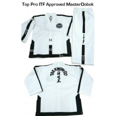 Master ITF ribbed material uniform