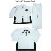 Champion ITF ribbed material uniform - sortbelter