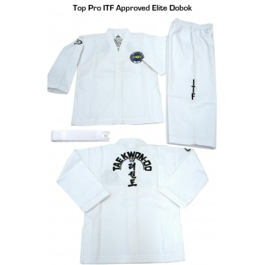 Elite ITF ribbed material uniform